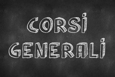 Corsi generali