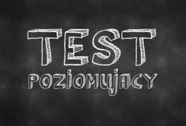 Test poziomujący