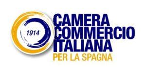 Centro colaborador logo camera commercio Italiana per la spagna